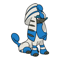 #676 Furfrou (Pharaoh Trim)