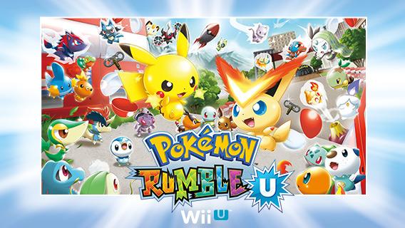 Pokemon Rumble U for WiiU