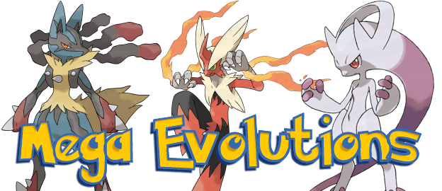 Mega evolutions in pokemon x and y the pokemasters - Pokemon y mega evolution ...