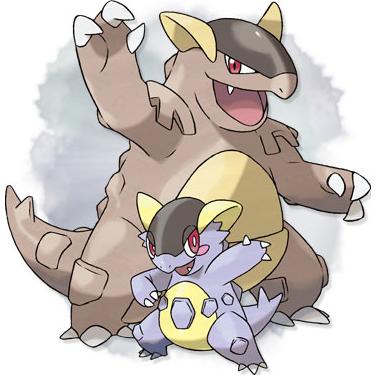 Mega kangaskhan pokemon x and y the pokemasters - Pokemon mega kangourex ...