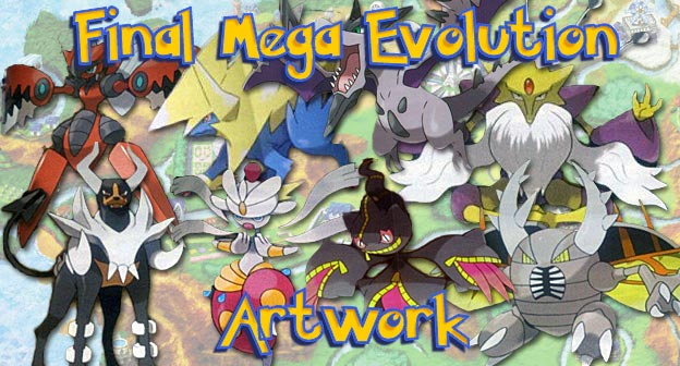 Final Mega Evolution Artwork