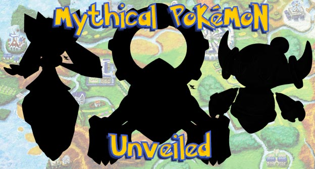 Pokemon X and Y Mythical Pokemon Unveiled