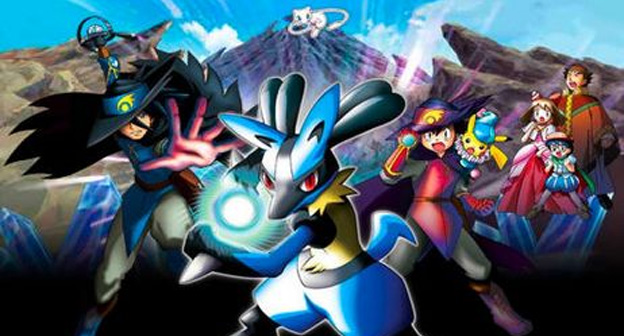Pokemon Lucario And The Mystery Of Mew The Pokemasters