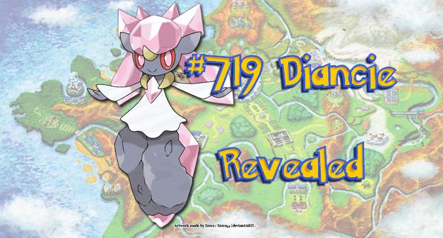 Pokemon X and Y #719 Diancie Revealed