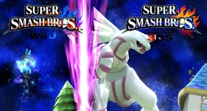 Super Smash Bros Wii U - Palkia Revealed