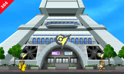 Pokemon XY Prism Tower Level for Super Smash Bros 3DS
