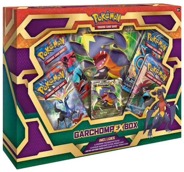Garchomp-EX TCG Box Set