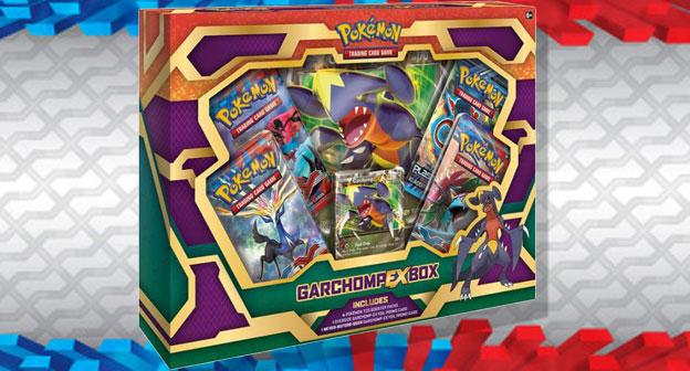 Garchomp-EX TCG Box