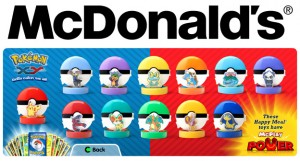 McDonald's Happy Meal Pokemon XY