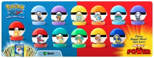 McDonald's Happy Meal Toys - Pokemon X and Y