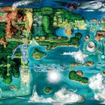 Pokémon Omega Ruby Alpha Sapphire Hoenn Map Concept Art