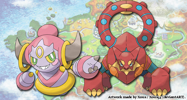 Hoopa & Volcanion Event Text Revealed