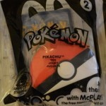 McDonalds Pokemon Toy 2014 #2 Pikachu