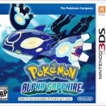 Pokemon Alpha Sapphire Box Art