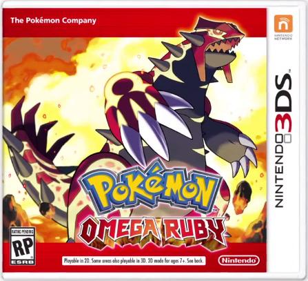 Pokemon Omega Ruby Box Art