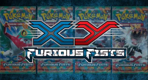 Pokemon TCG XY Furious Fists Logo Header