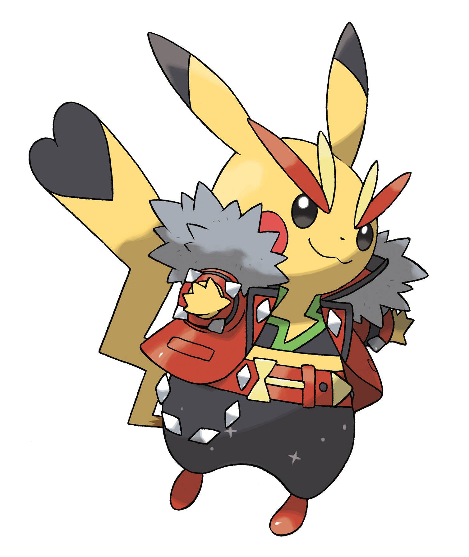 Pikachu mega evolutions