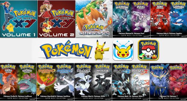 Pokemon iTunes Header