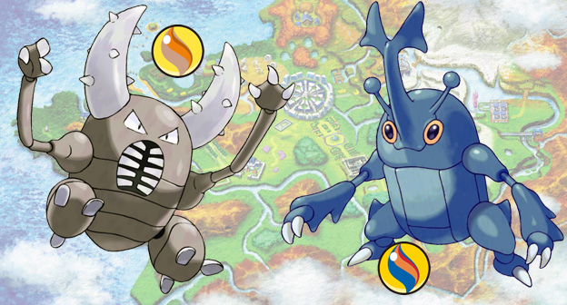 Pinsir and Heracross Pokemon Distribution Event for August and September 2014