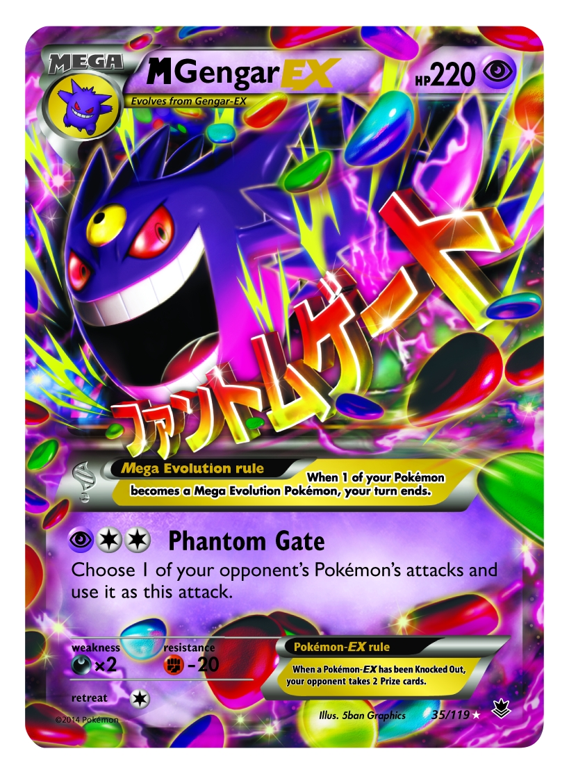 Gengar Mega Evolution Card