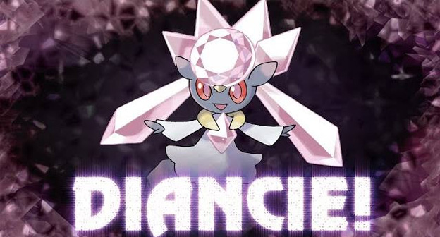 Get a code for Diancie at your local Gamestop from October 27 through November 16, 2014.