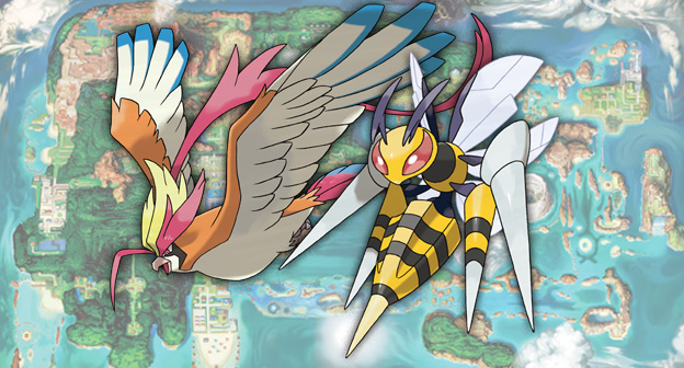 Mega Pidgeot and Mega Beedrill Revealed