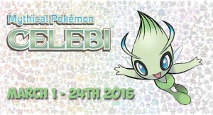 Free Celebi From Nintendo Network March 1 through March 24th 2016