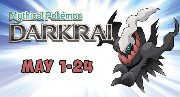 Get Darkrai for Free May 2016 - Pokemon Gamestop EBgames