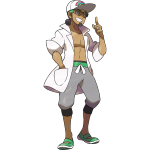 Pokemon Professor Kukui