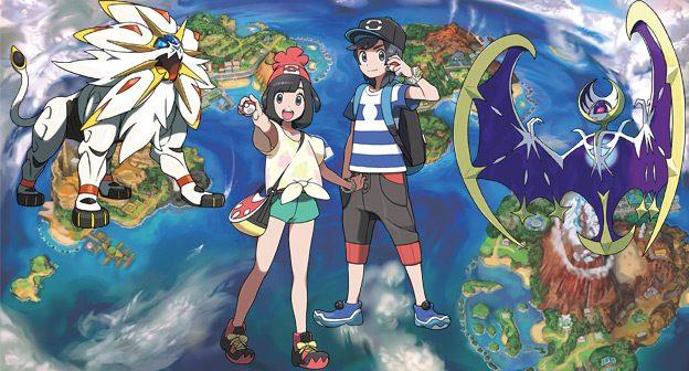 Pokemon Sun Pokemon Moon Legendary Pokemon, Alola Region, New Characters