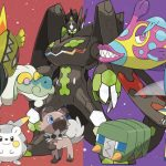 More new pokemon from Pokemon Sun and Pokemon Moon