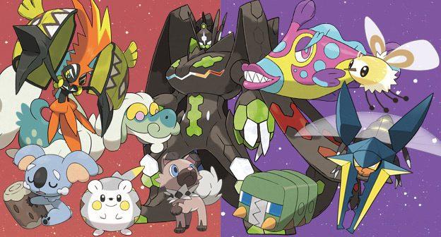 More new pokemon from Pokemon Sun and Pokemon Moon