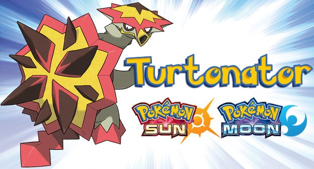 turtonator pokemon sun pokemon moon